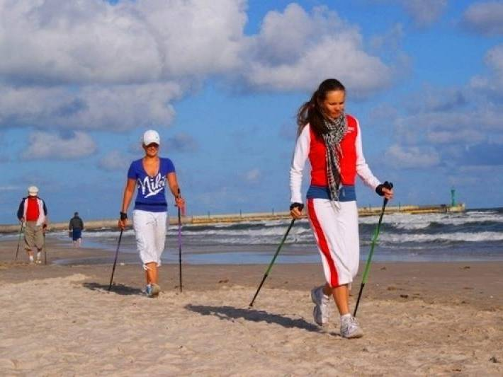 Aerobik i Nordic Walking